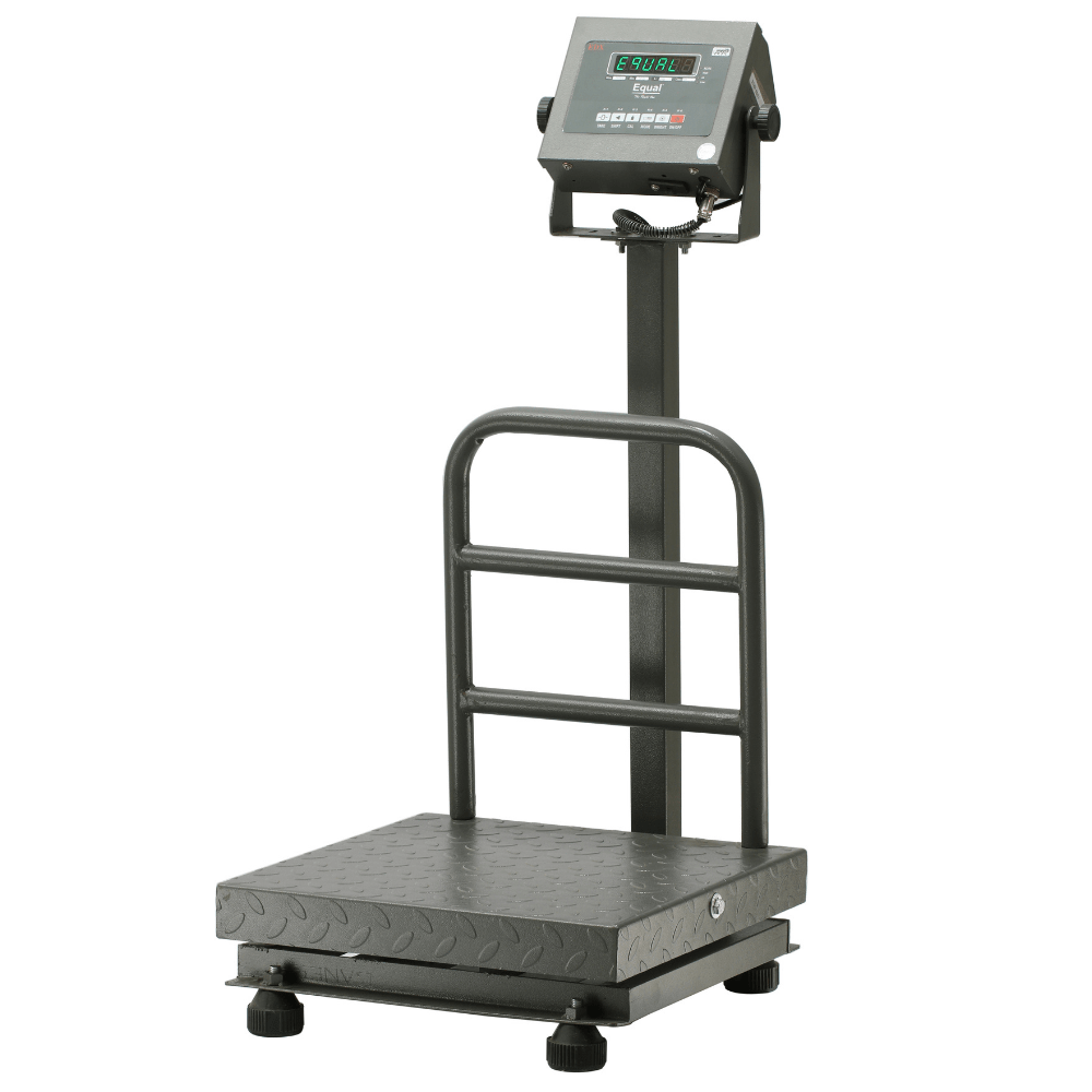 EQUAL Digital Platform Weighing Scale With F And B Display, 200kg, 20g, MS