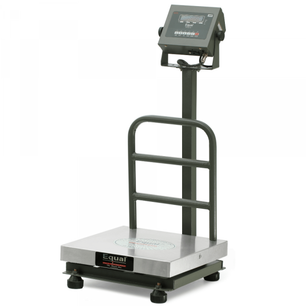 EQUAL Digital Platform Weighing Scale With F And B Display, 200kg, 20g, SS