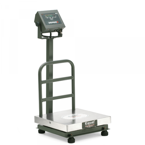 EQUAL Digital Platform Weighing Scale With Revolving Display, 100Kg, 10g
