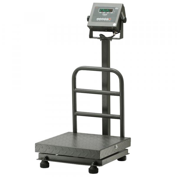 EQUAL Digital Platform Weighing Scale With Revolving Display, 100Kg, 10g, 400x400mm