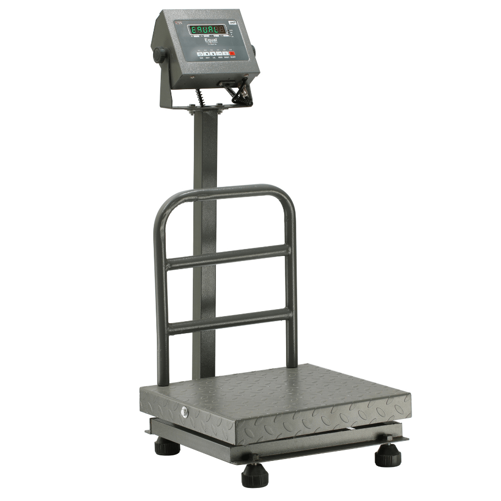 EQUAL Digital Platform Weighing Scale With Revolving Display, 200Kg, 20g, MS