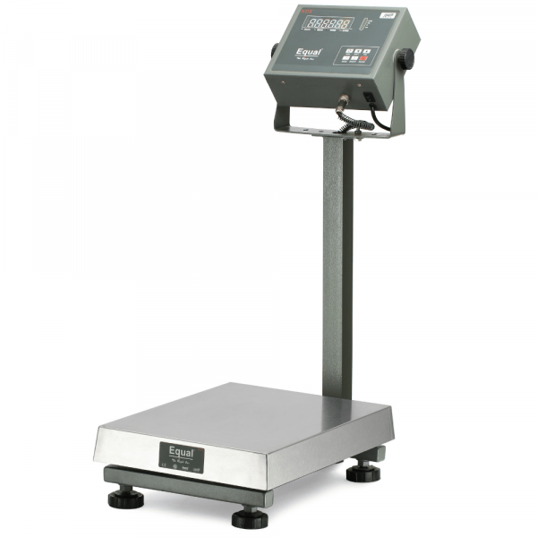 EQUAL EDX Platform Weighing Scale, Multicolor Display, 150kg, 20g