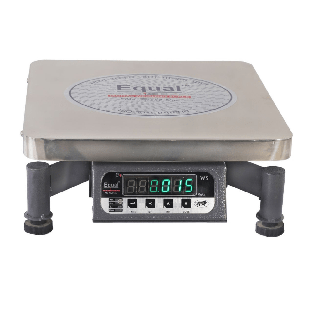 EQUAL New Chicken F&B Display/300x300/SS Weighing Scale