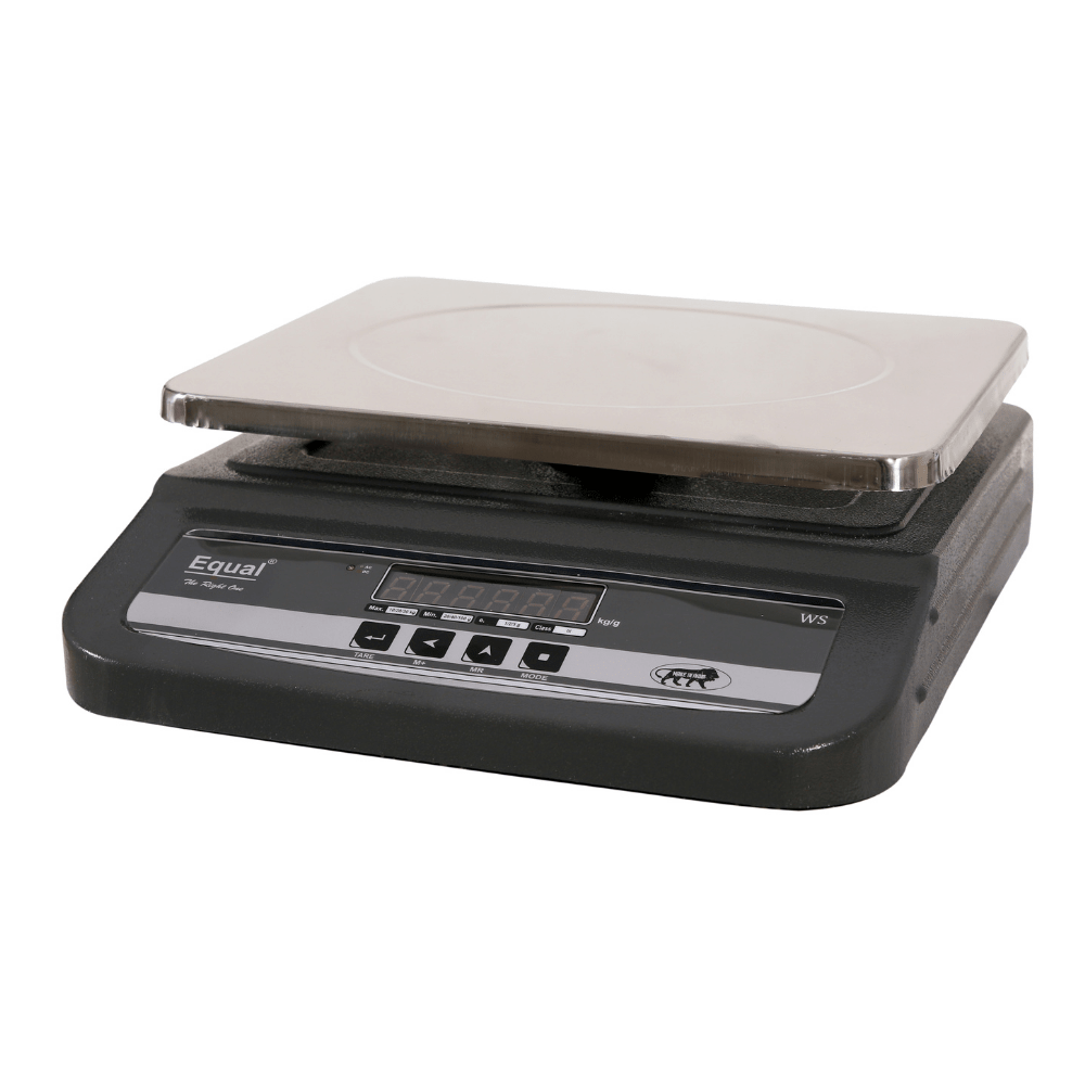 EQUAL Table Top Display Front & Back/MS-1 Weighing Scale, 10/20/30kg, 1/2/5g