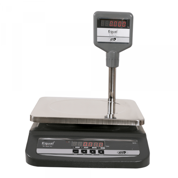 EQUAL Table Top Pole /MS-3 Weighing Scale, 10/20/30kg, 1/2/5g
