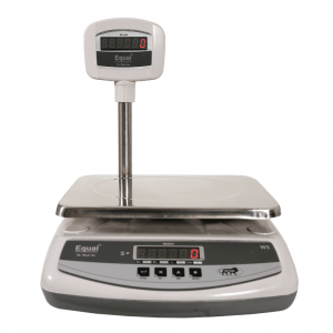 EQUAL Table Top Pole/Big ABS Weighing Scale - 10/20/30kg, 1/2/5g